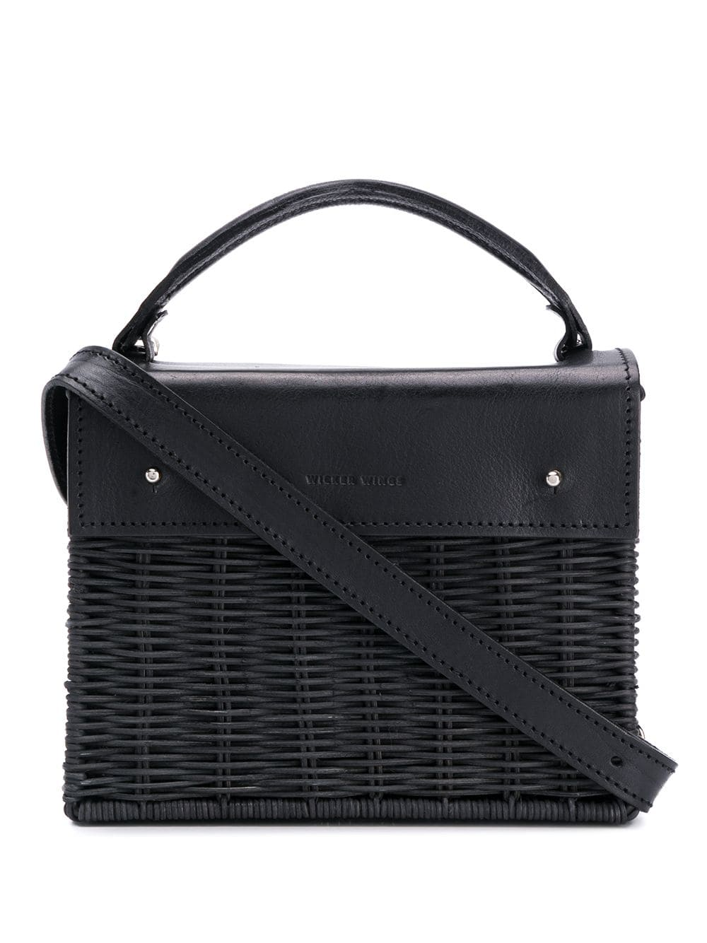 Top handle. Detachable strap. Fully lined with an interior with 1 pocket.
