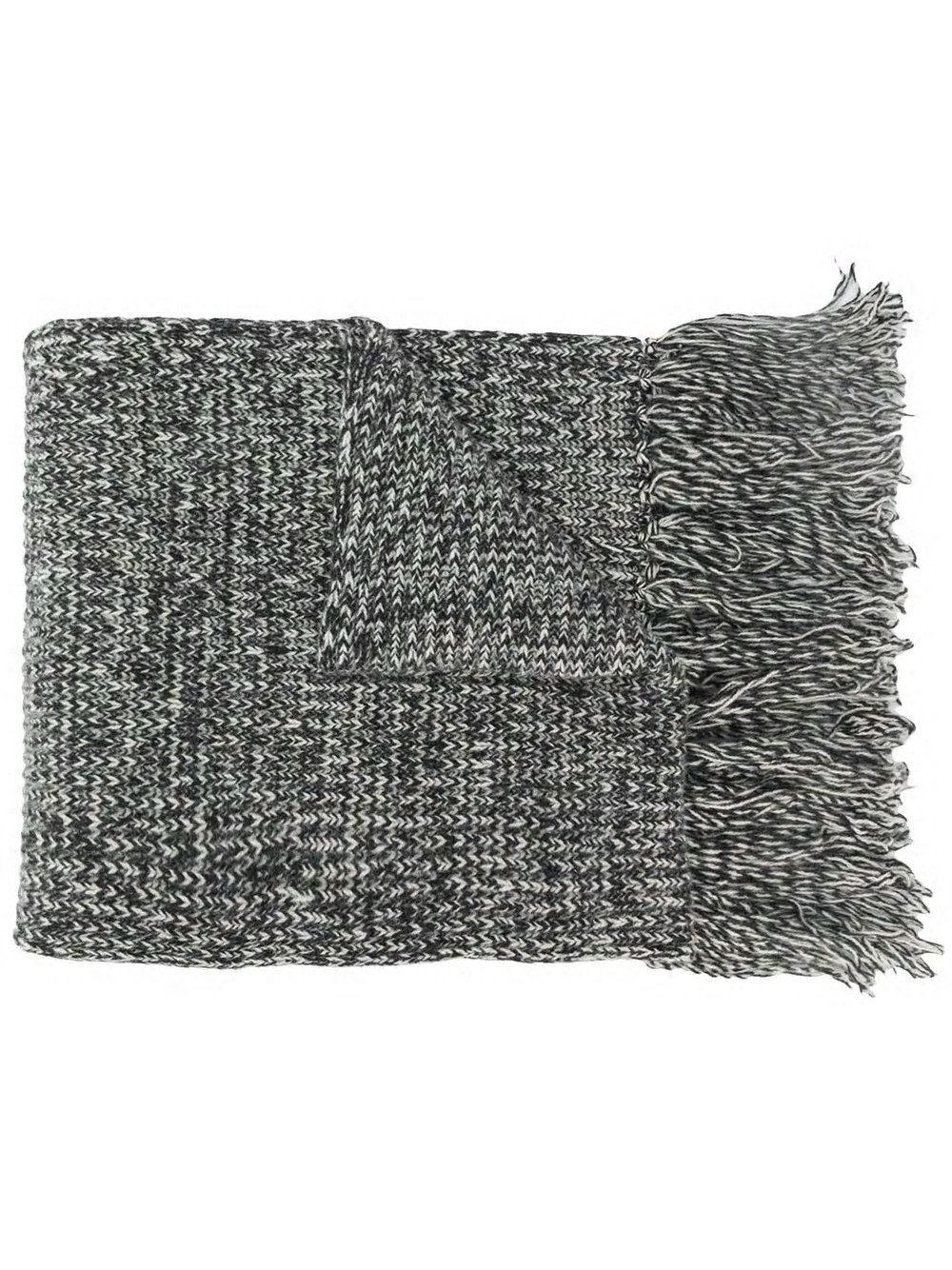 Mouline Scarf With Fringes