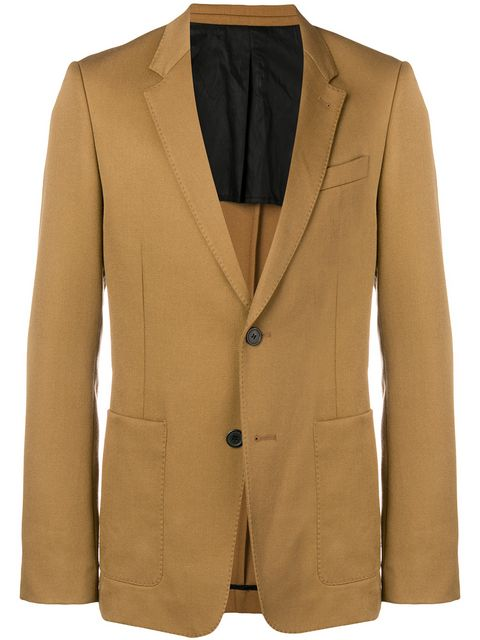 Half-Lined Two Buttons Jacket