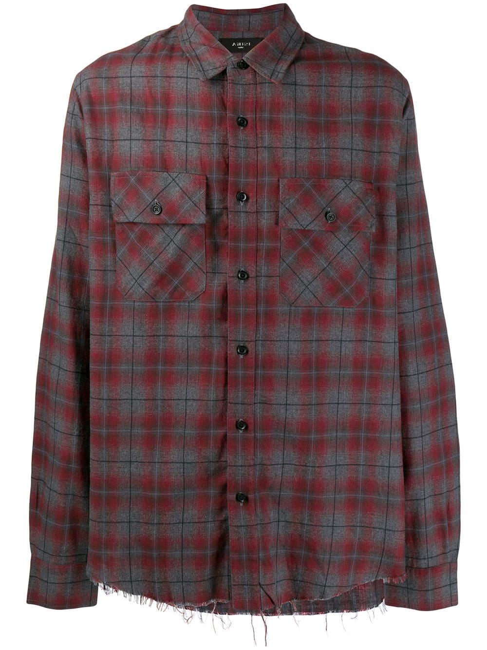 Amiri Flannel Shirt
