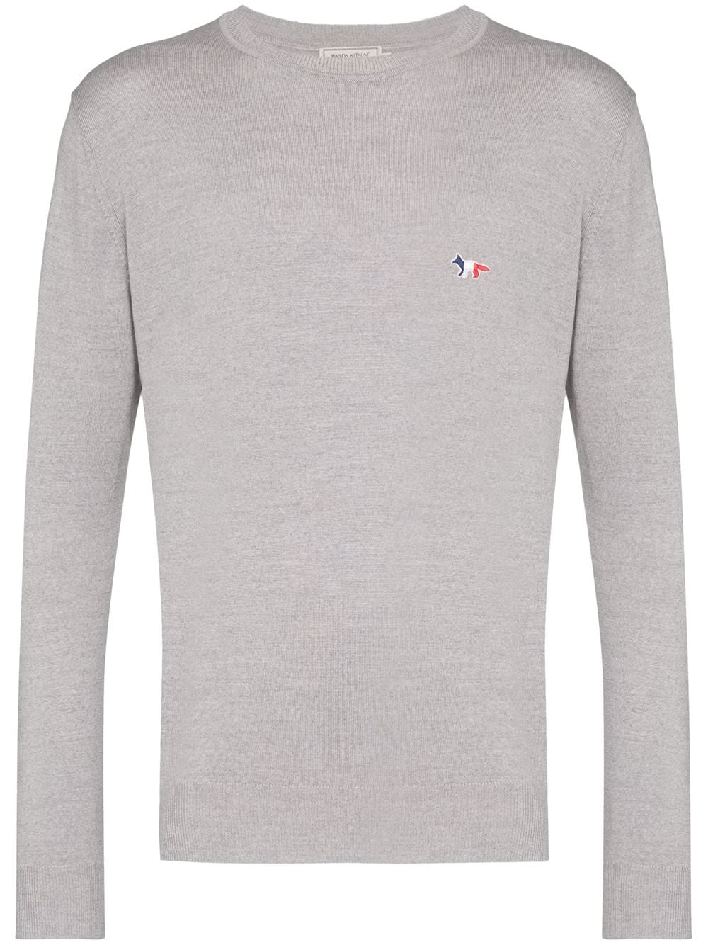VIRGIN WOOL R-NECK PULLOVER