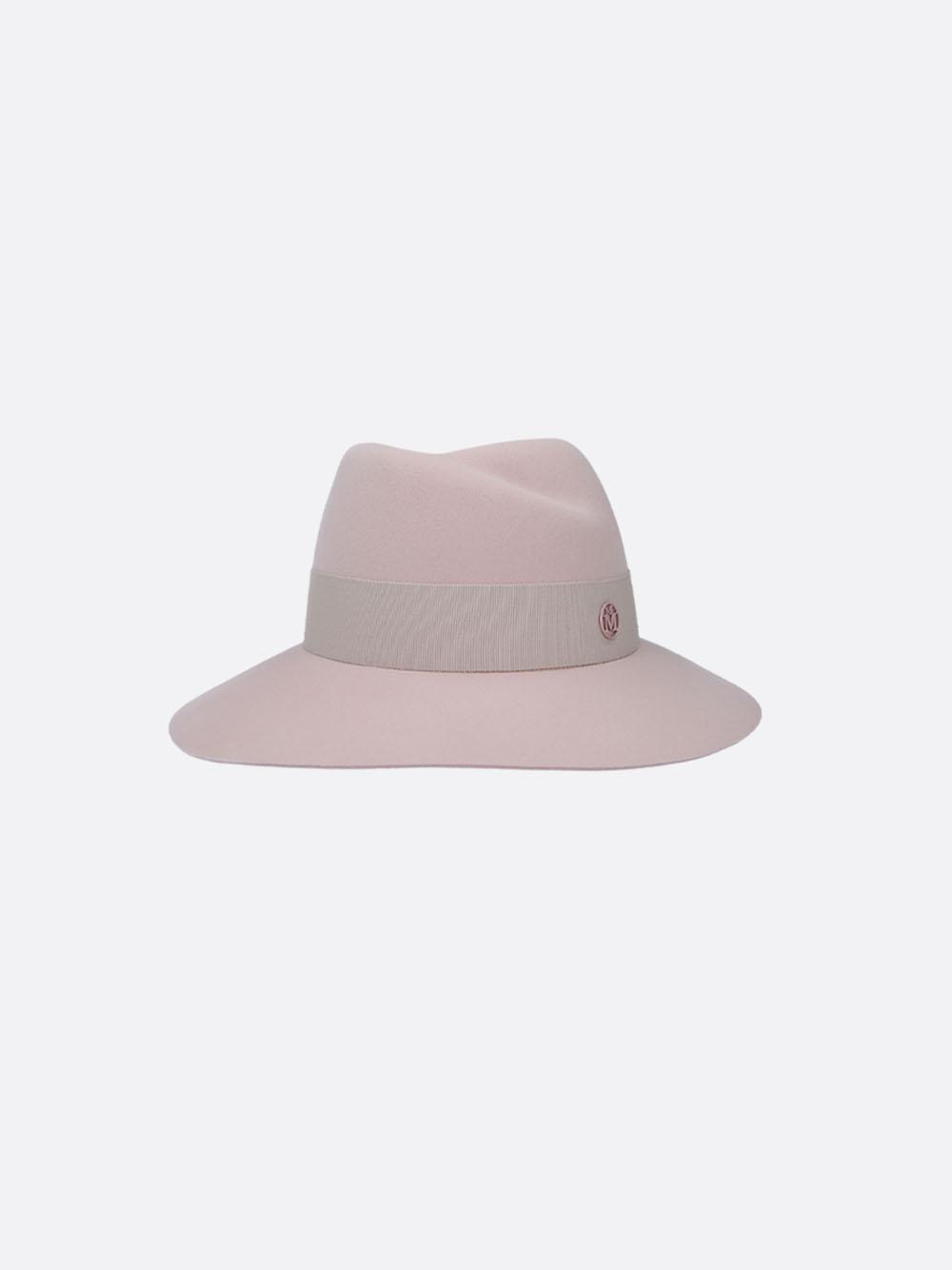 VIRGINIE HAT 19PF FELT BABY PINK