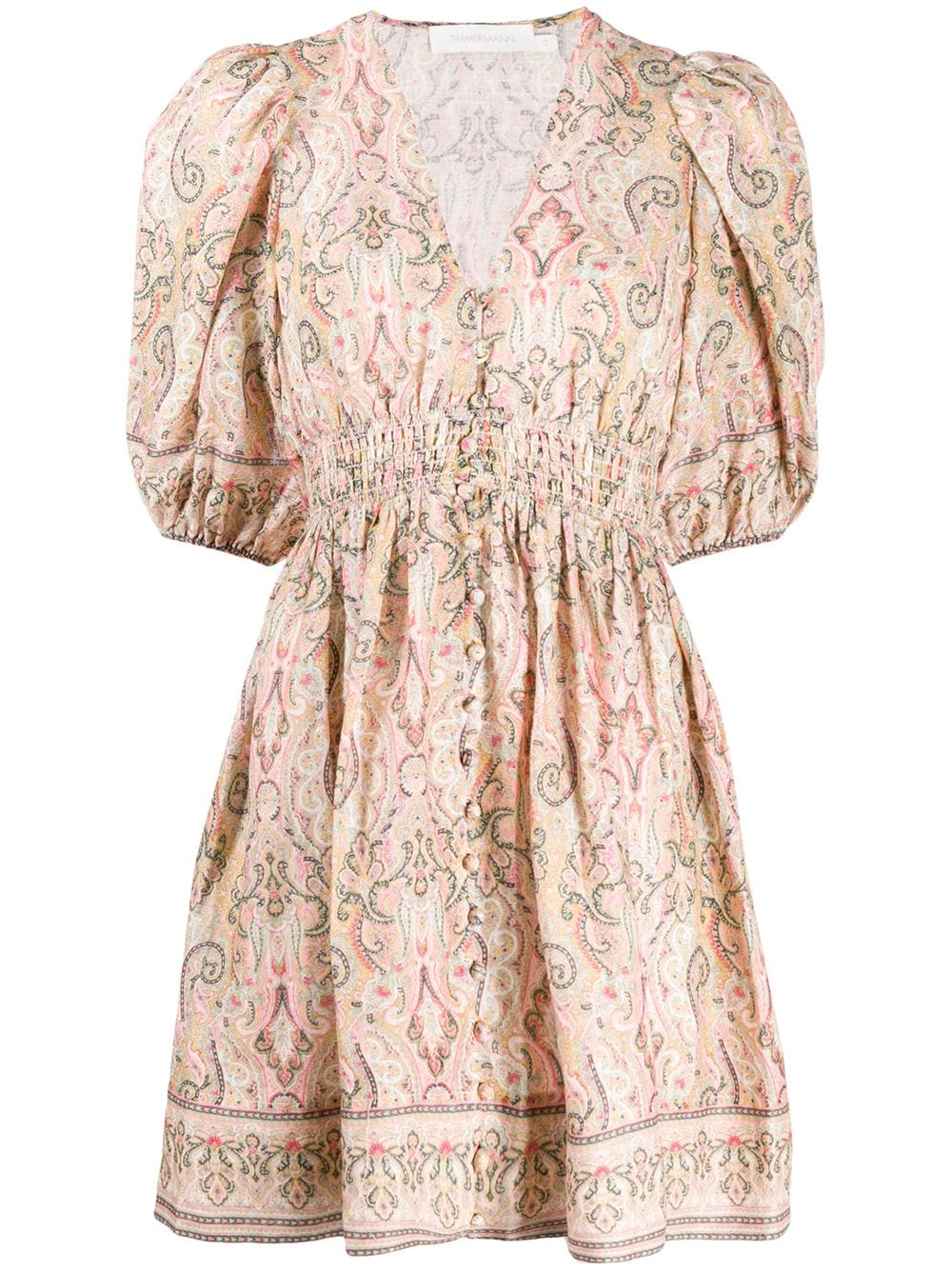 Freja Shirred Waist Dress