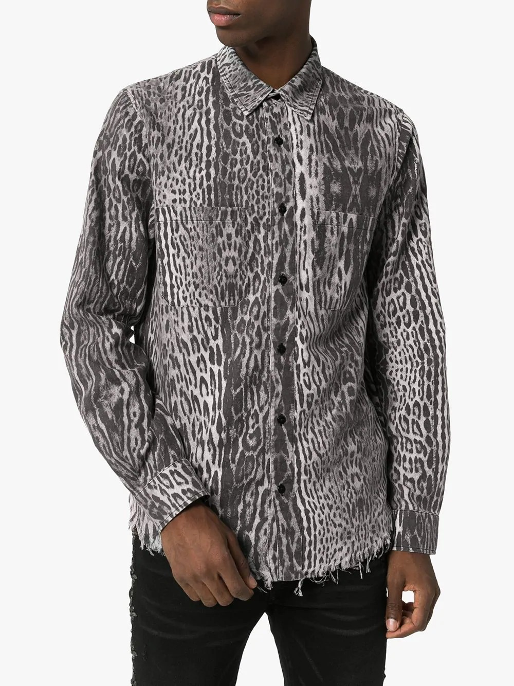 Leopard Printed Flannel