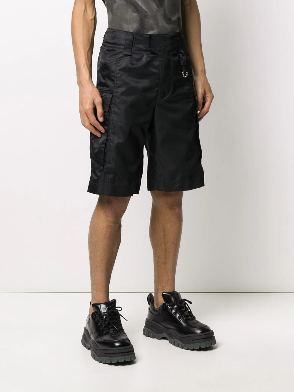 ALYX BLACK TACTICAL SHORT