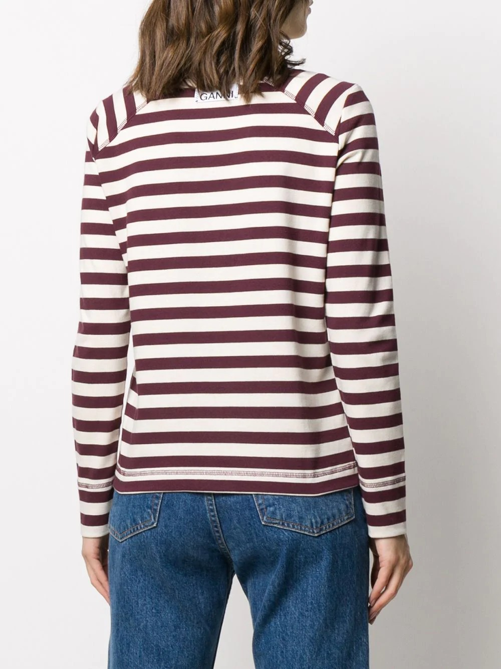 Striped Cotton Jersey
