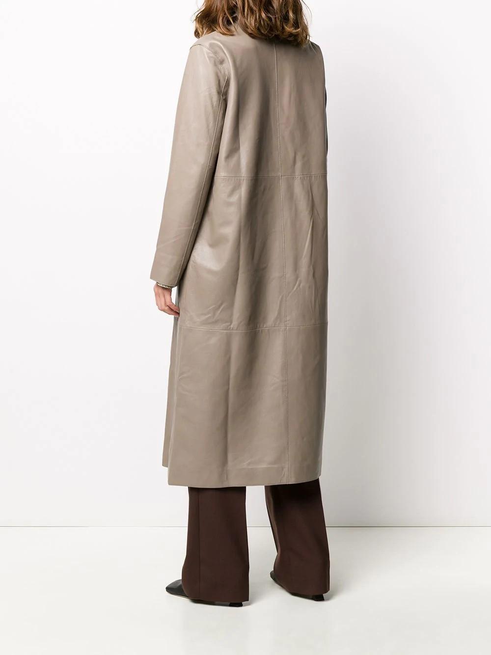 Melissa Coat Lamb Moss