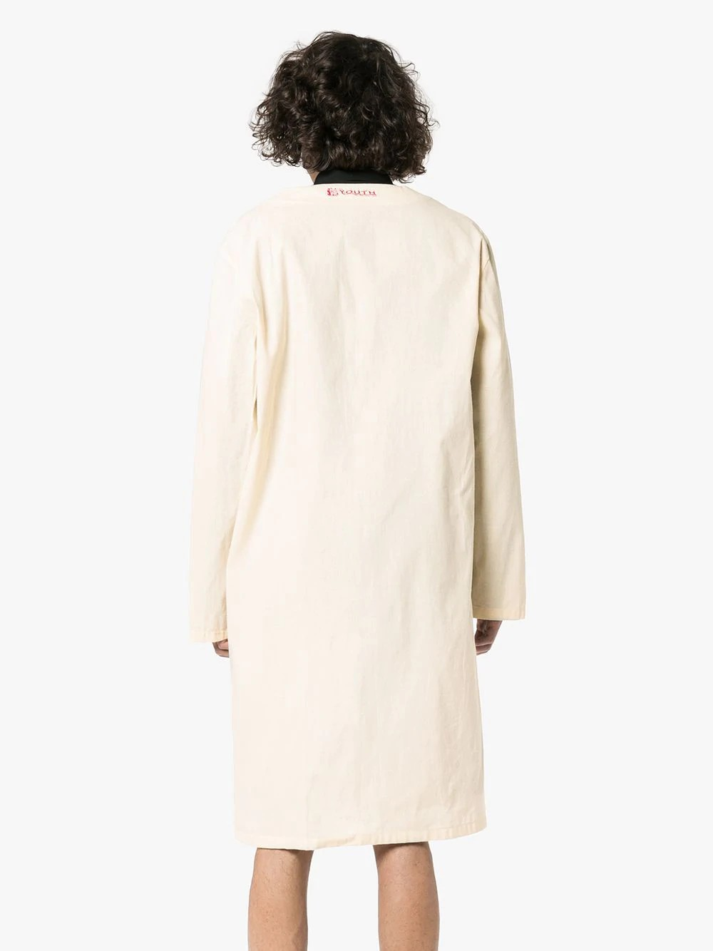 Classic labo coat with 2 label
