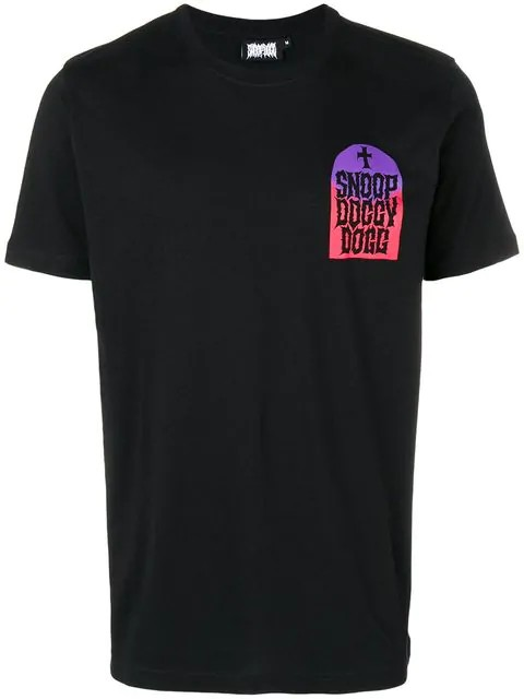 TOMBSTONE TEE C532 BLACK GRADIENT