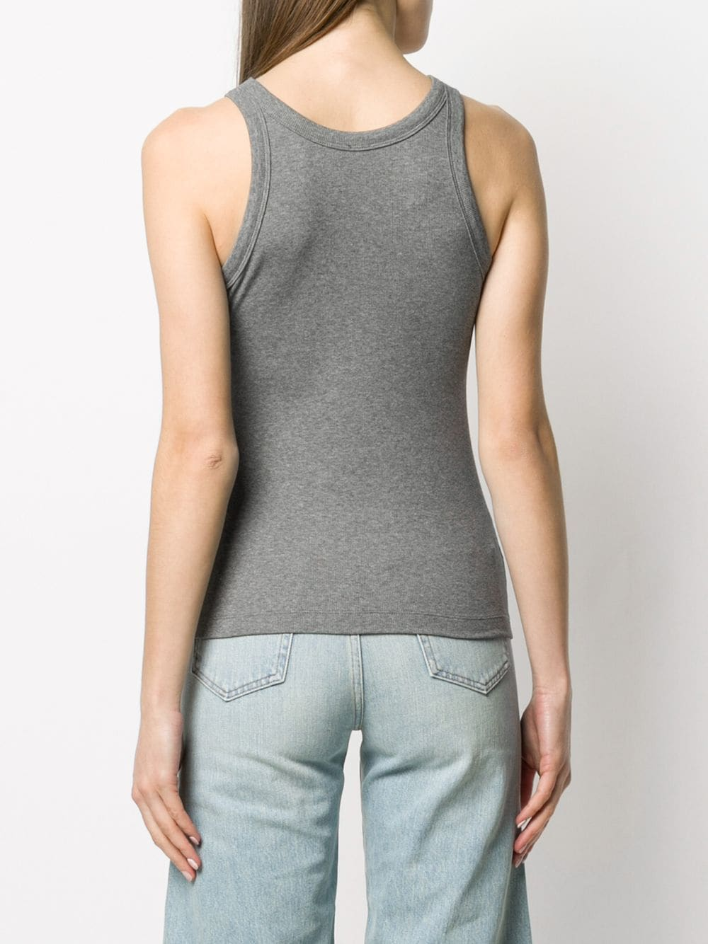 RIBBED TIGHT FITTED TANK TOP