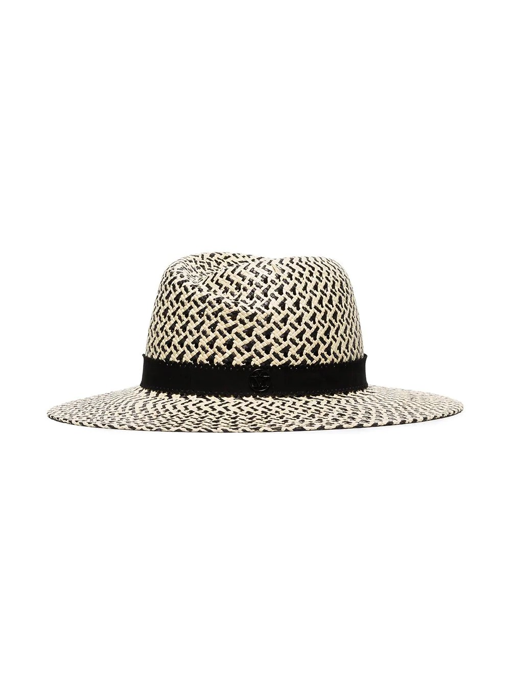 VIRGINIE HAT 20PS BICOLOR STRAW