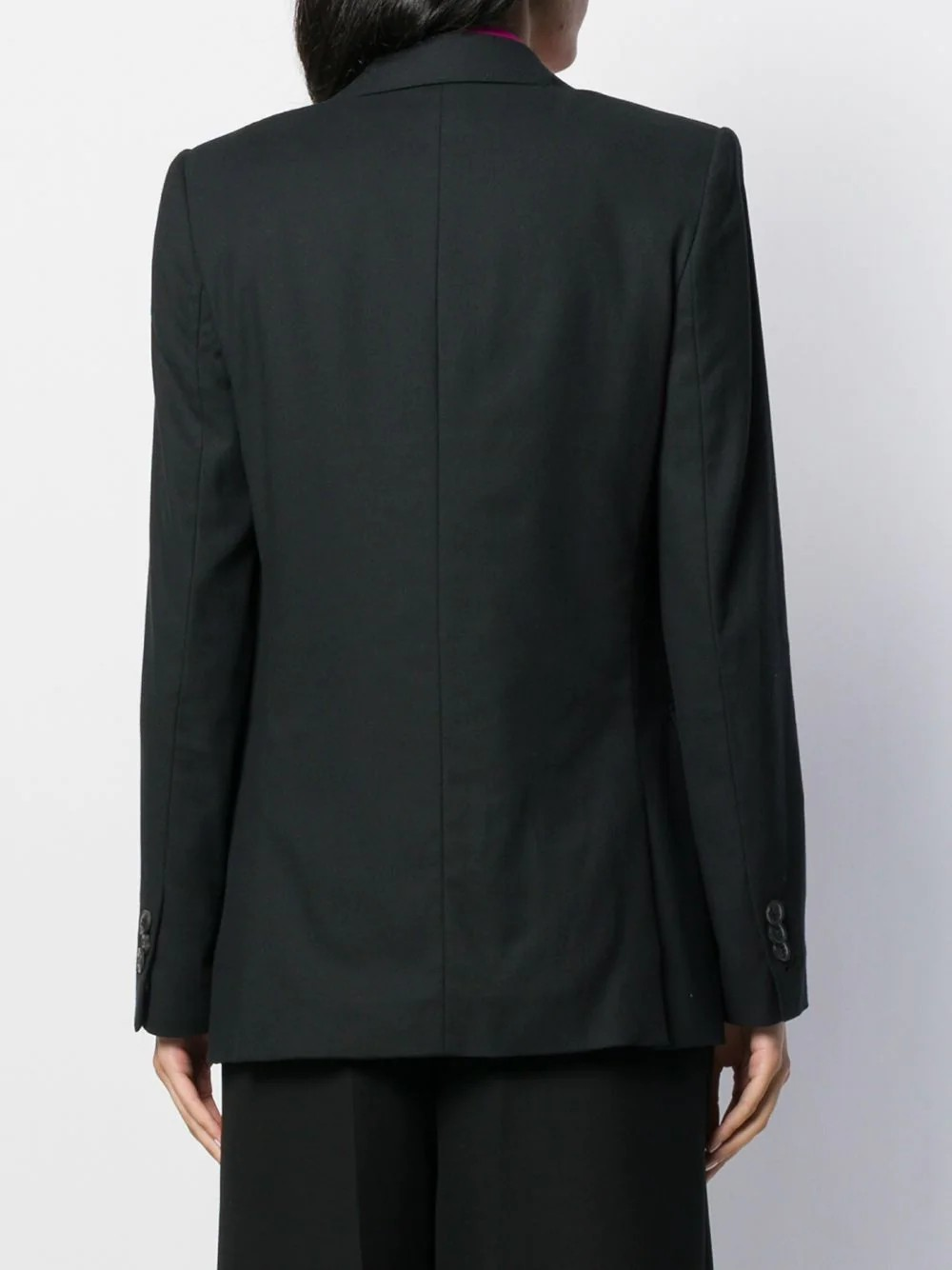 WOMAN HALF-LINED TWO BUTTONS JACKET