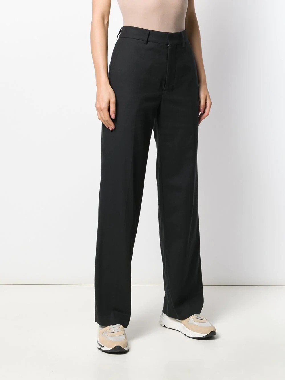 WOMAN WIDE FIT TROUSERS