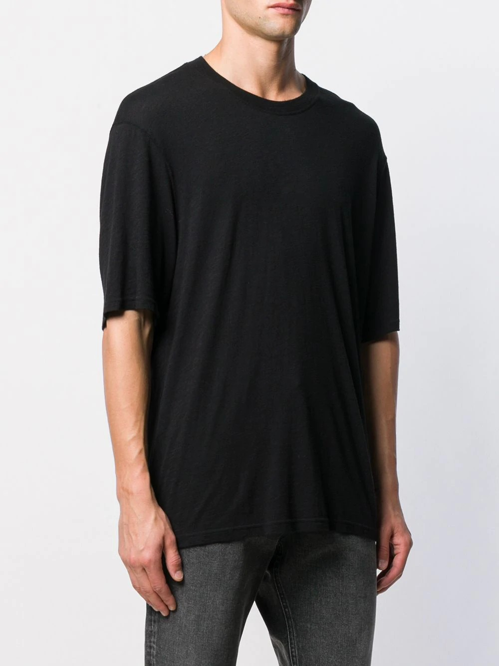 MEN T SHIRT IN LIGTH JERSEY WITH AMI TAB