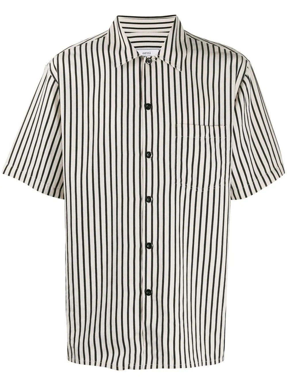 MEN CAMP COLLAR SHORT SLEEVE SHIRT