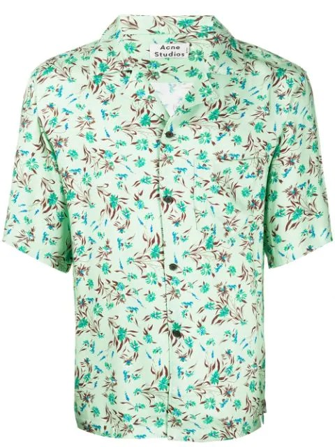 SIMON FLUID FLOWER PR SHIRTS