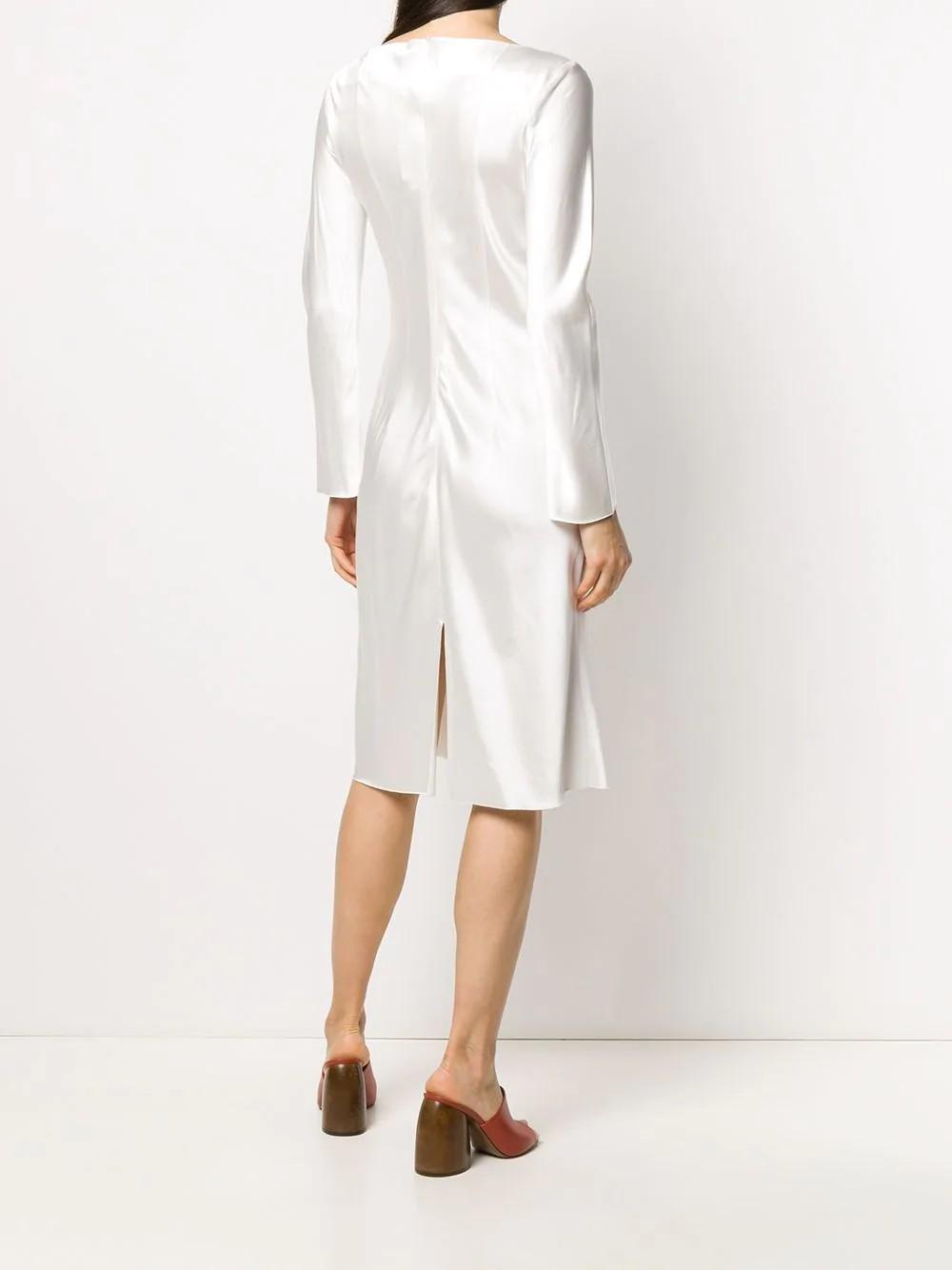 Bianca dress Midi length Long sleeve