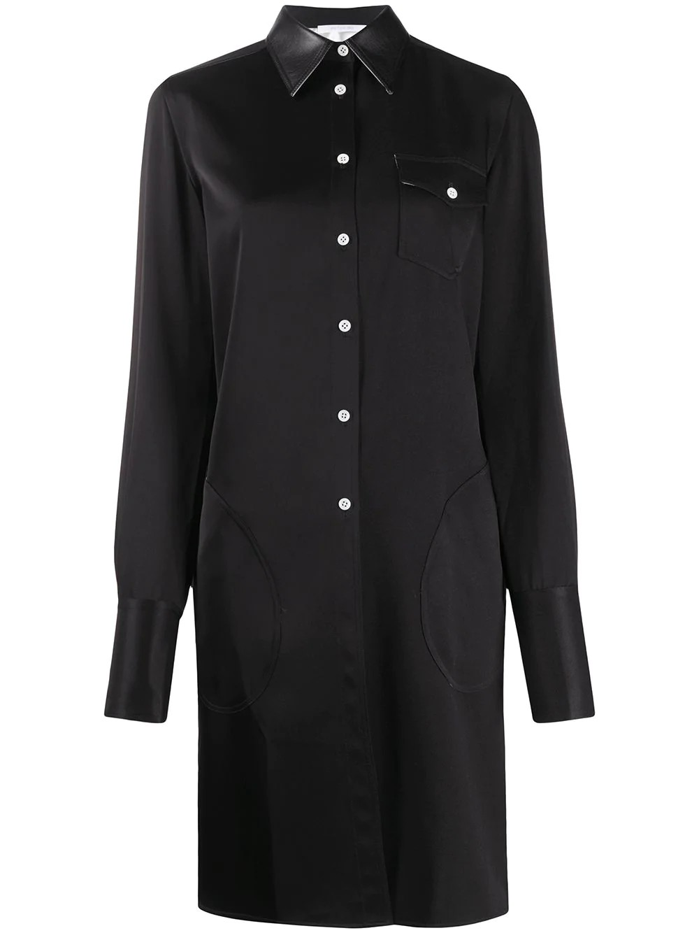 FITTED CLASSIC SHIRT DRESS