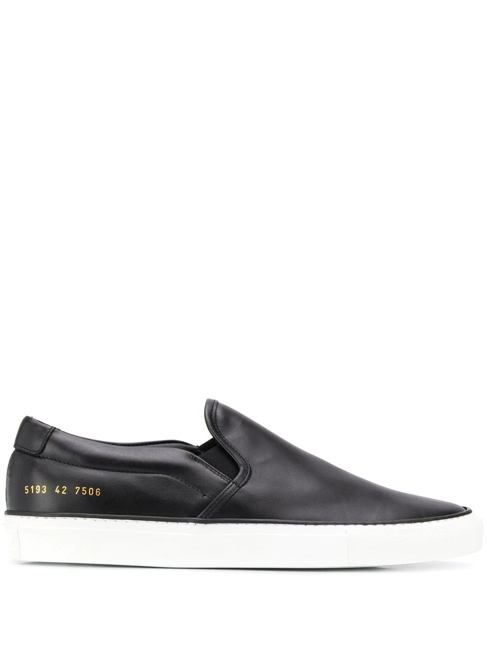 Slip On in Leather 5193