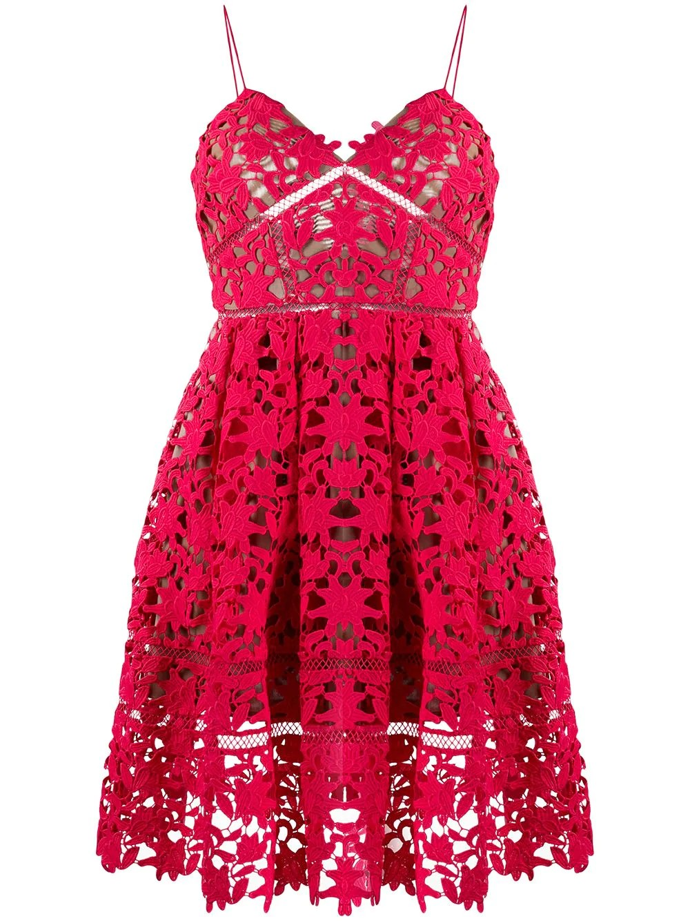 HOT PINK MINI AZAELEA DRESS