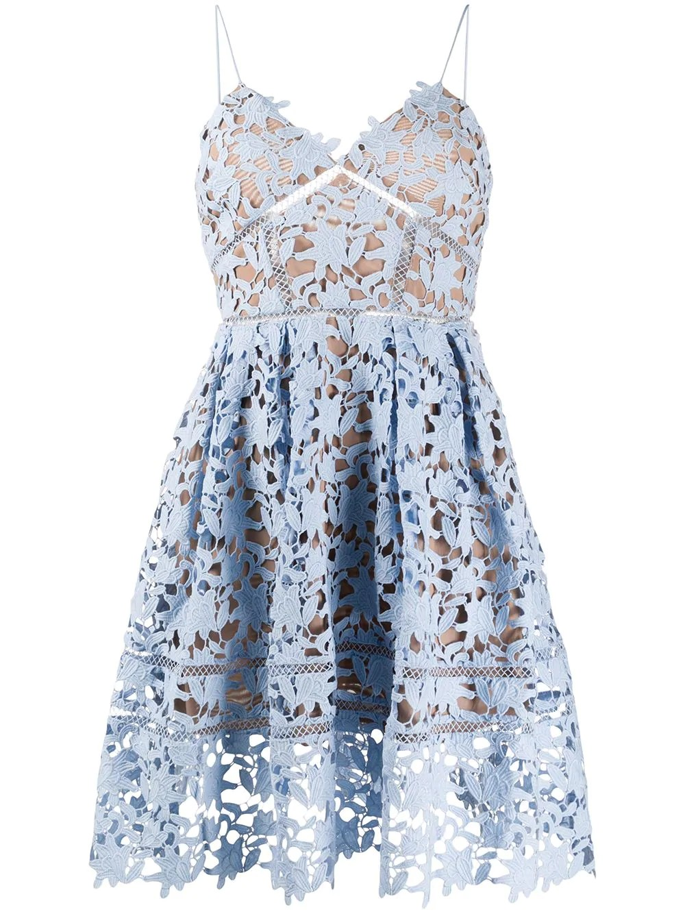 LIGHT BLUE MINI AZAELEA DRESS