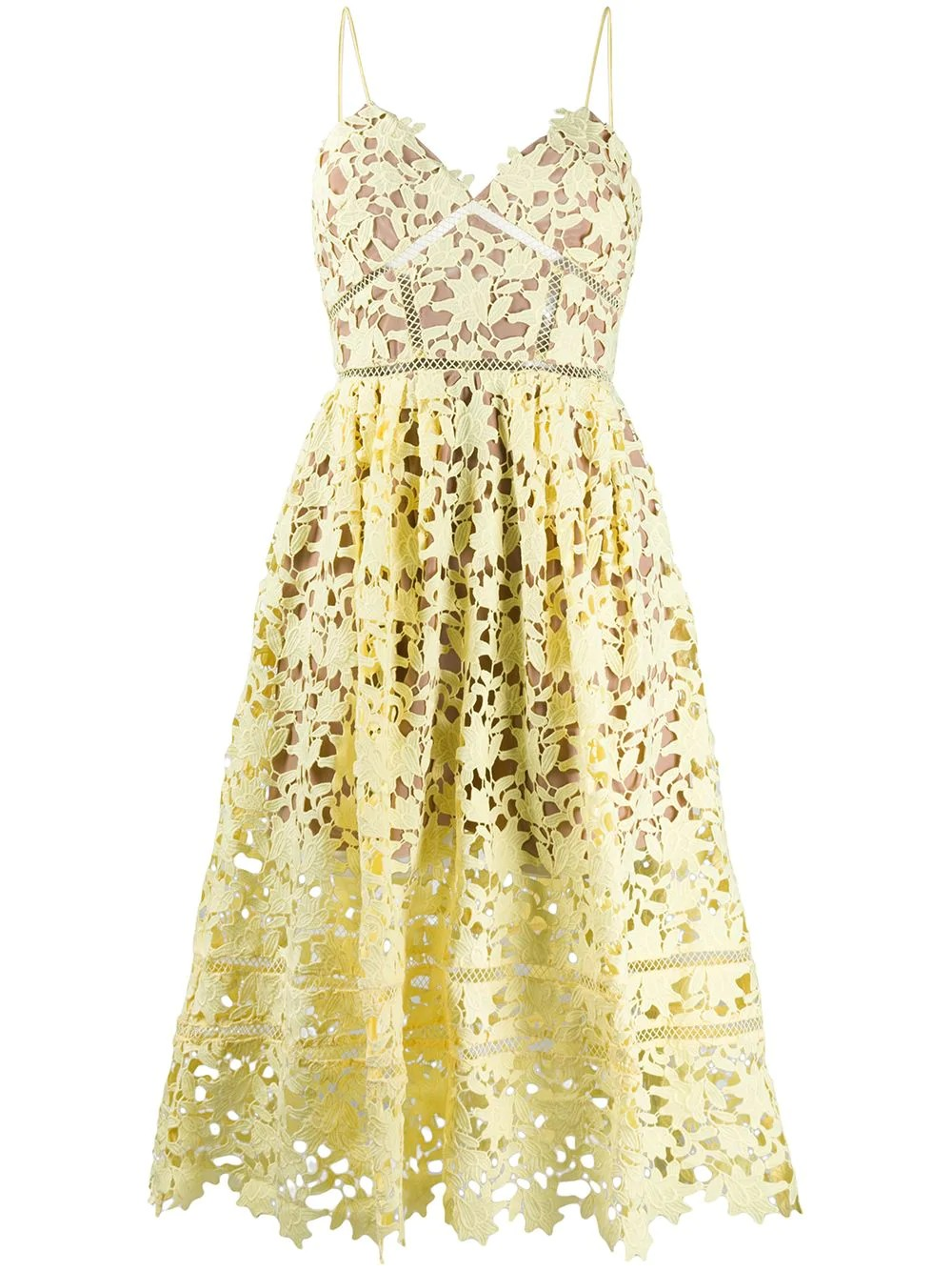 YELLOW AZAELEA DRESS