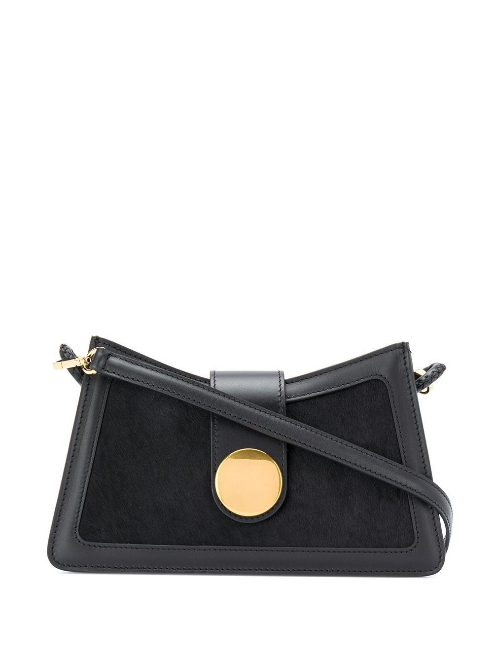 BAGUETTE CALF PONY BLACK