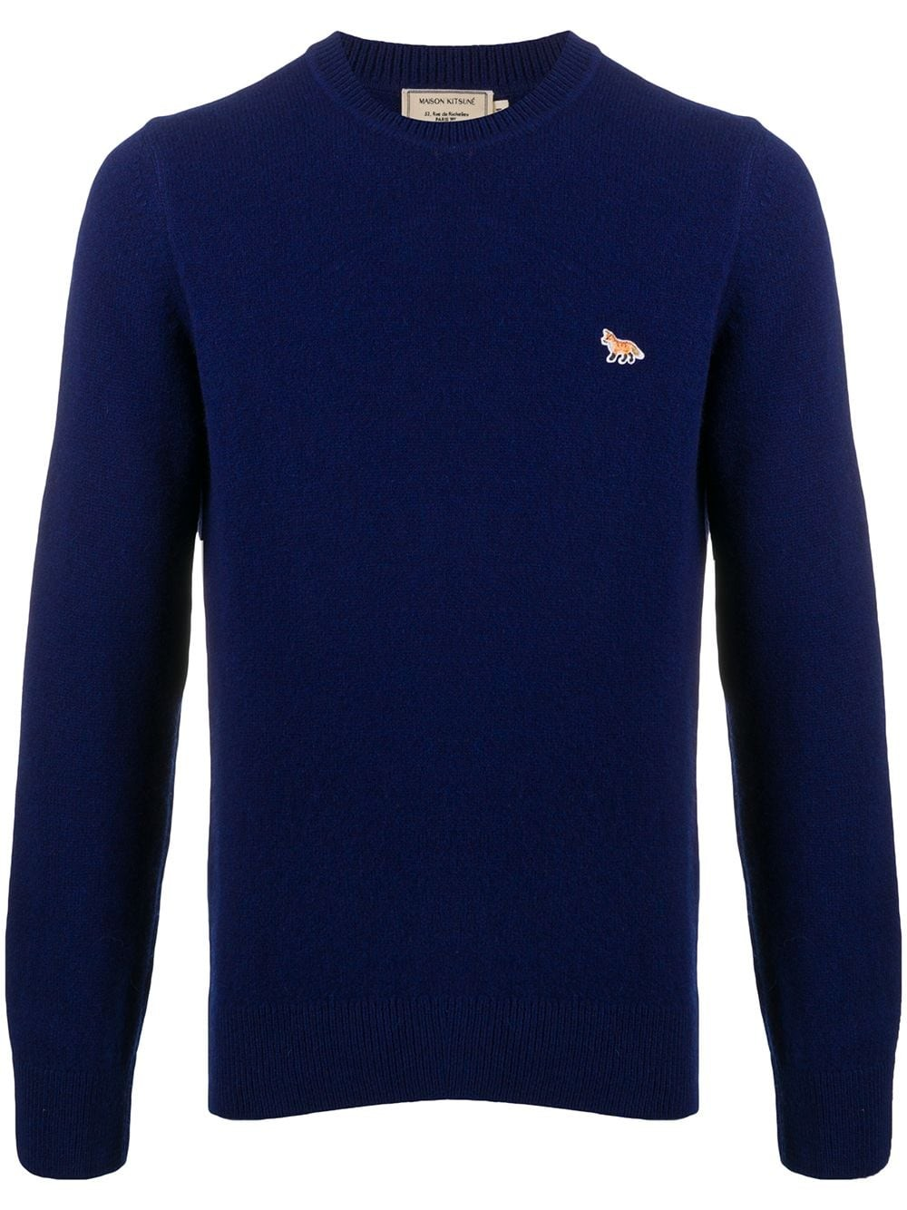 LAMBSWOOL R-NECK PULLOVER PROFIL