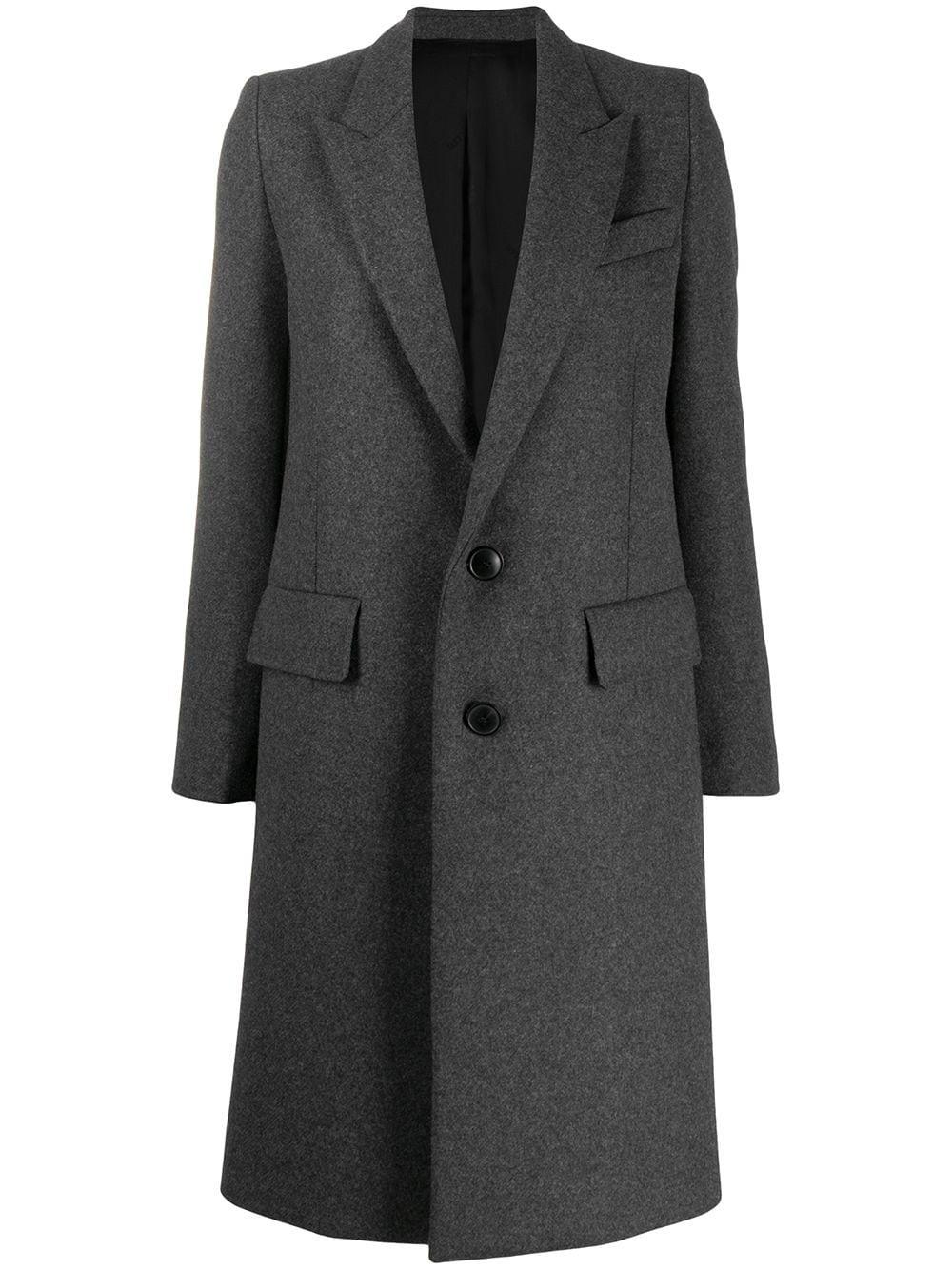 Wool belnd coat