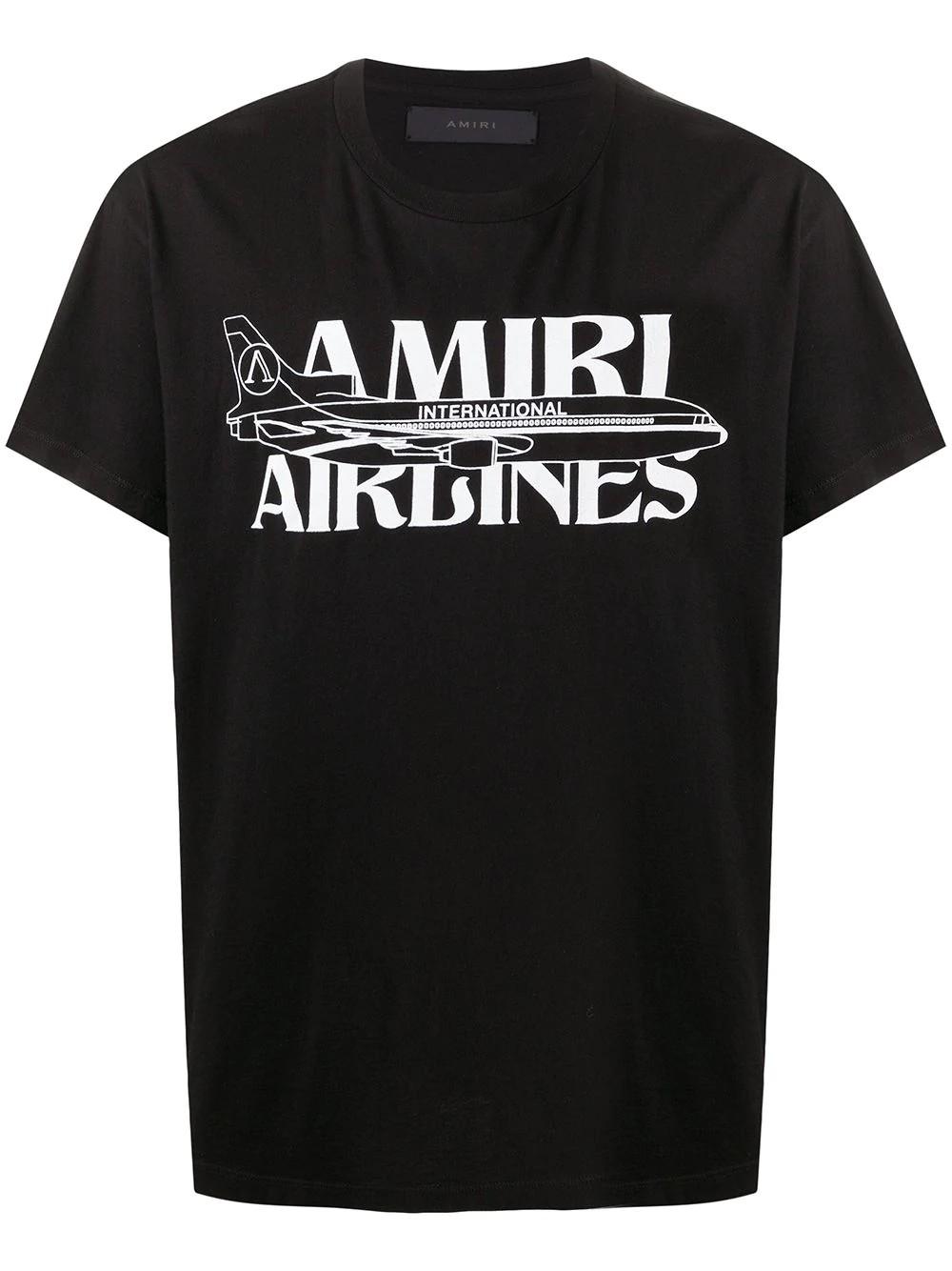AMIRI AIRLINES TEES