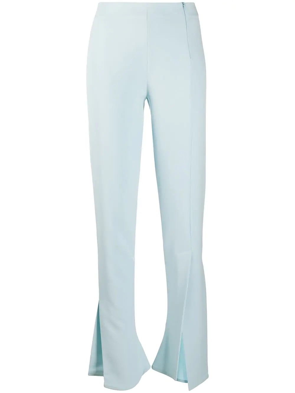 FITTED PANTS WITH SIDE AND FRONTAL SLITS
