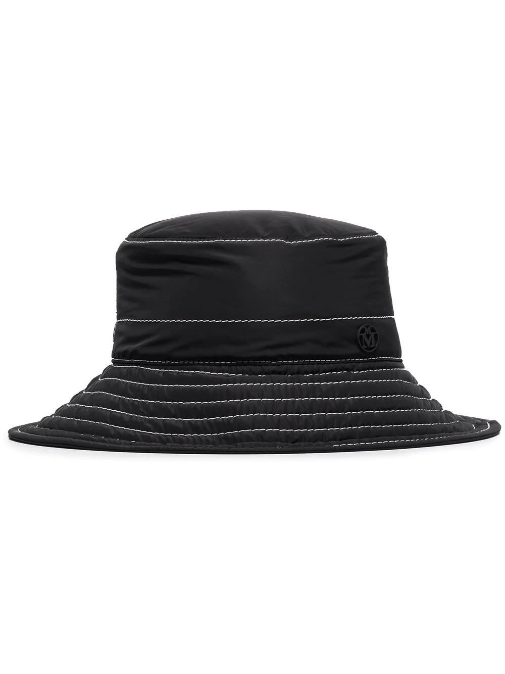 CHARLOTTE HAT 2 20PF TOPSTITCHED NYLON